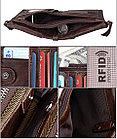 Кожаный бумажник с технологией RFID - Сохраните свои деньги!, фото 6