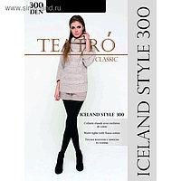 Колготки женские с начесом Iceland style 300 цвет чёрный (nero), р-р 5