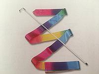 Лента для художественной гимнастики-радуга, фото 1