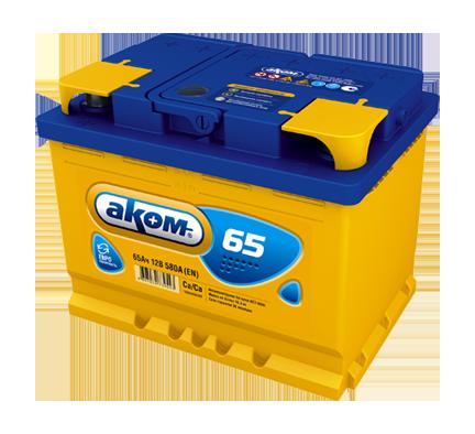 Аккумулятор АКОМ 65Е 65 Ач