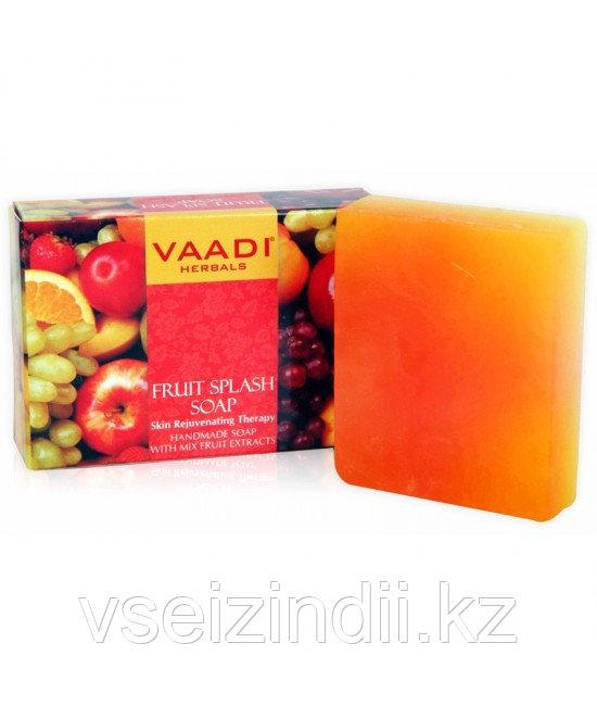 Мыло Восстанавливающее фруктовое для лица и тела 75 г, VAADI HERBAL