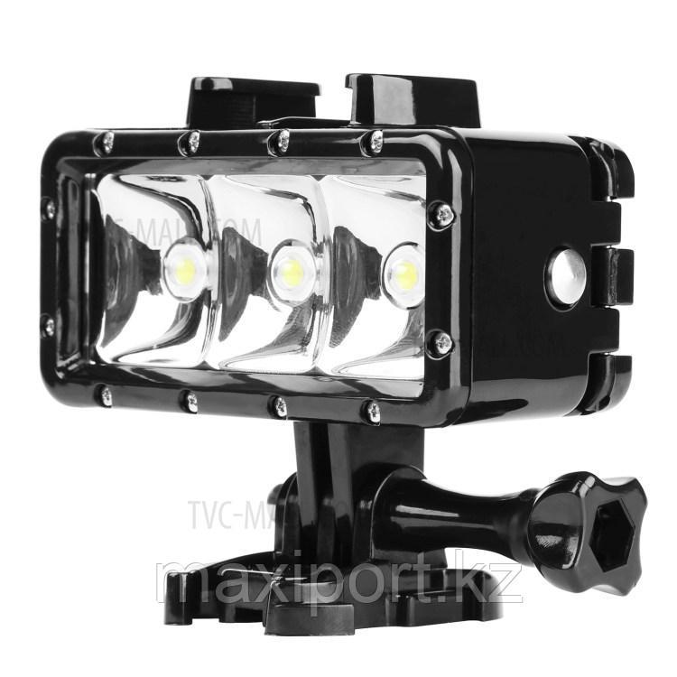 Прожектор фонарь  на Gopro водонепроницаемый