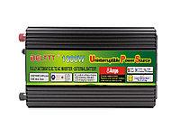 Преобразователь напряжения (инвертор) BELTTT 1000, 12В>220В, 1000Вт., фото 1