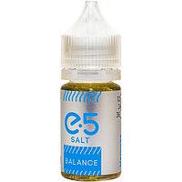 Жидкость для электронных сигарет E5 Pod Salt 30 мл 24 и 36 мг