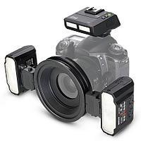 Макровспышка Meike MK-MT24II 2.4G Wireless Macro Twin Lite Flash TTL for Nikon
