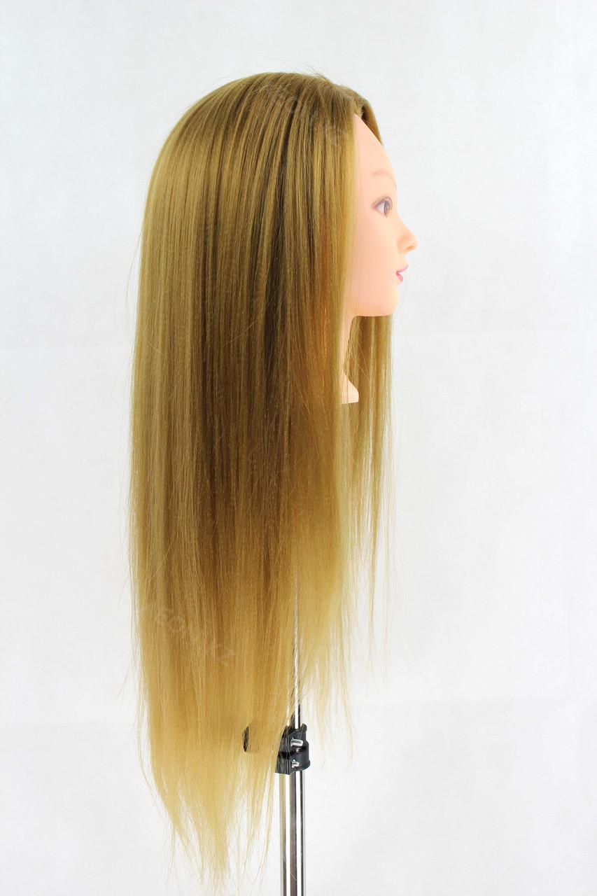 Голова-манекен русый волос искусственный - 60 см - фото 2