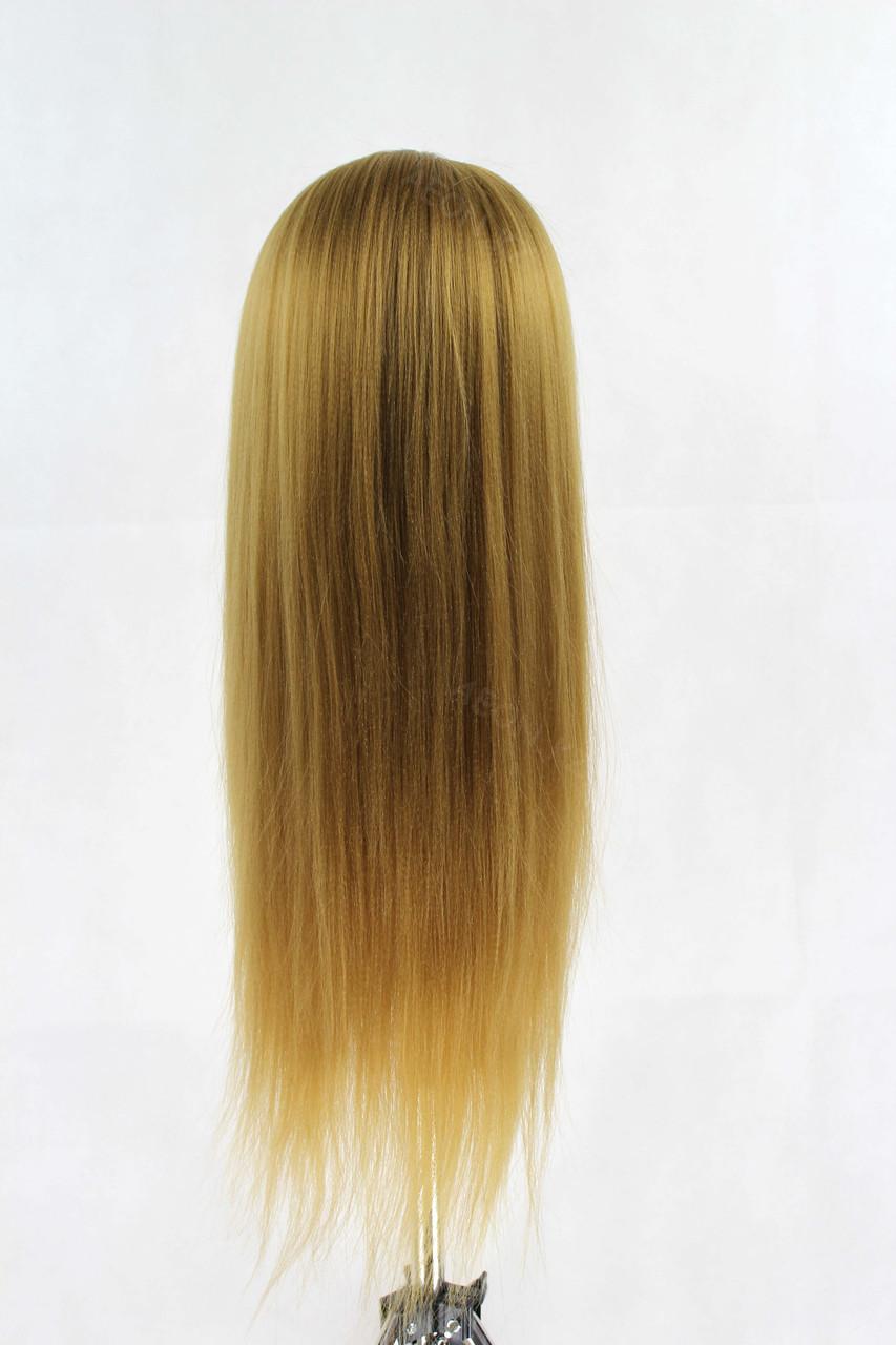 Голова-манекен русый волос искусственный - 60 см - фото 4