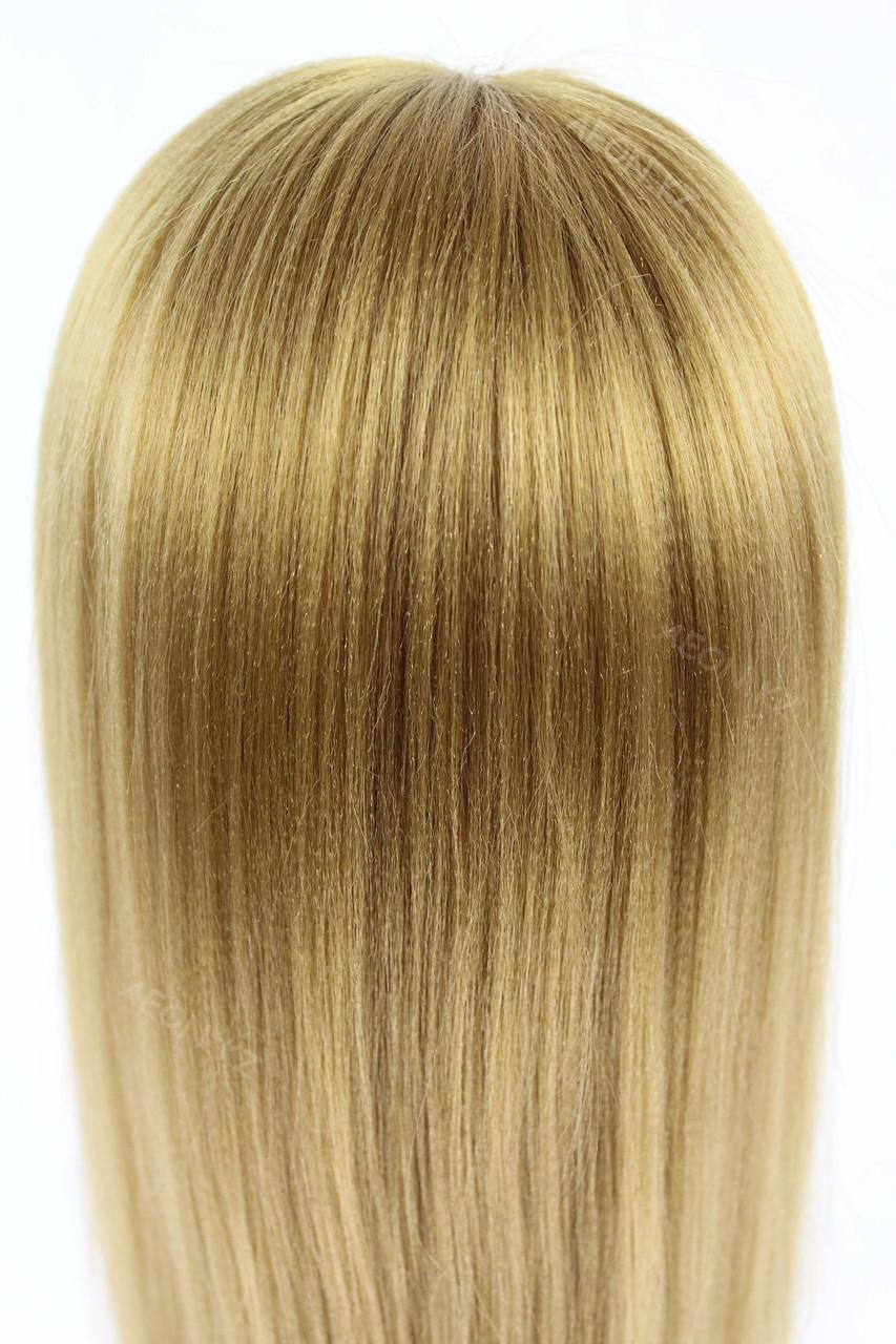 Голова-манекен русый волос искусственный - 60 см - фото 5
