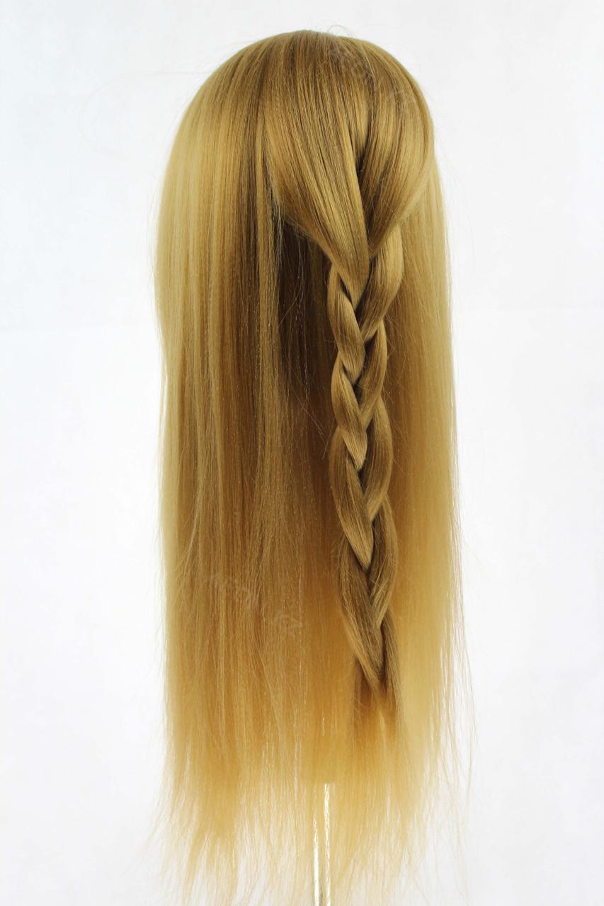 Голова-манекен русый волос искусственный - 60 см - фото 6
