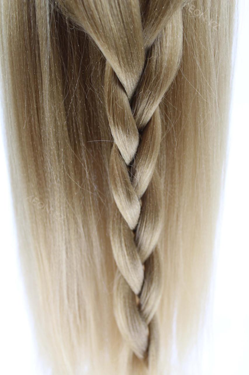Голова-манекен русый волос искусственный - 60 см - фото 7