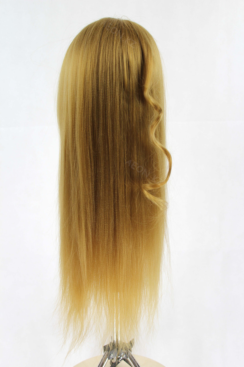 Голова-манекен русый волос искусственный - 60 см - фото 8