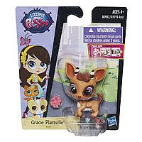 Зверушка Littlest Pet Shop - Антилопа с цветочком, фото 1