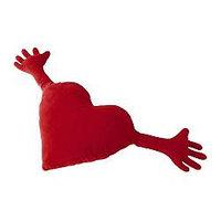 Подушка ФАМНИГ ЙЭРТА красный ИКЕА, IKEA