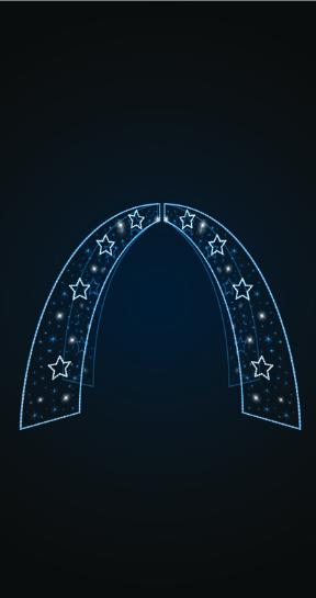 Входная группа Звездные ворота - 3D GR 10