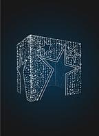 Входная группа Подарочная коробка Звездная - 3D GR 12