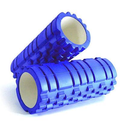 Валик ролик массажный для занятия фитнесом размер 33х15, фото 2