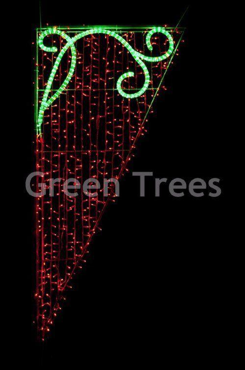 """Световое панно """"Зеленая ветка"""""""