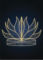 Светодиодный фонтан Огонь - KT 05