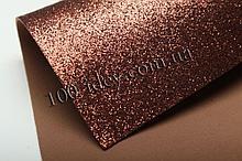 Фоамиран глиттерный, Шоколадный , формат А3 10 шт , Алматы