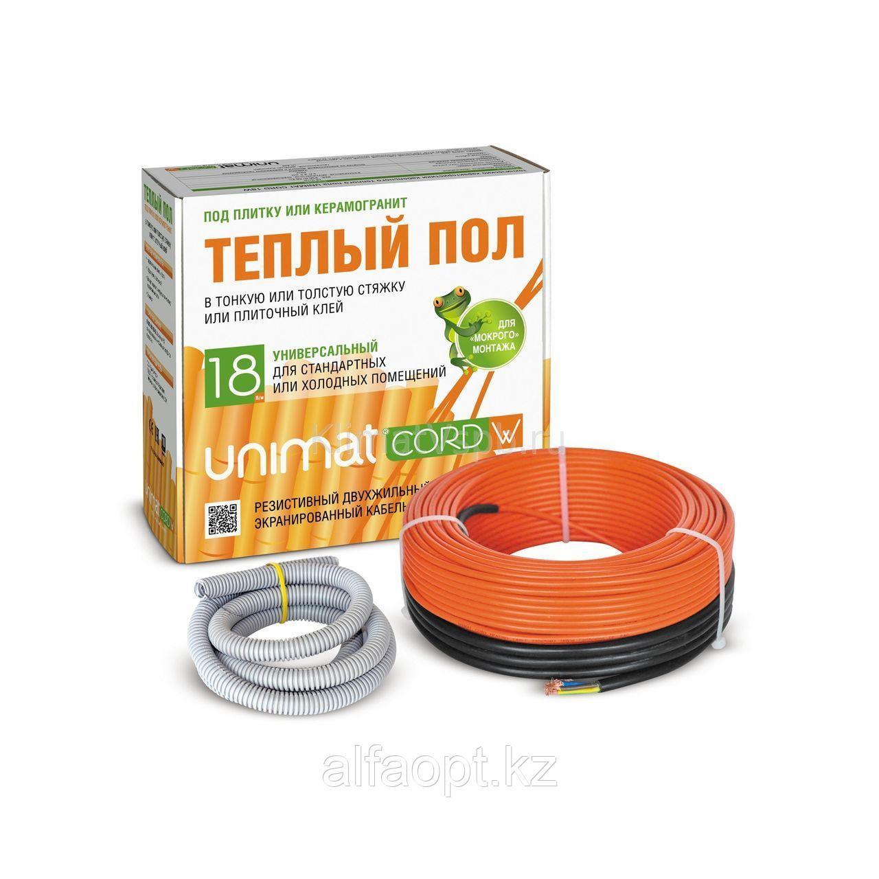 Комплект теплого пола Unimat CORD 18W-60