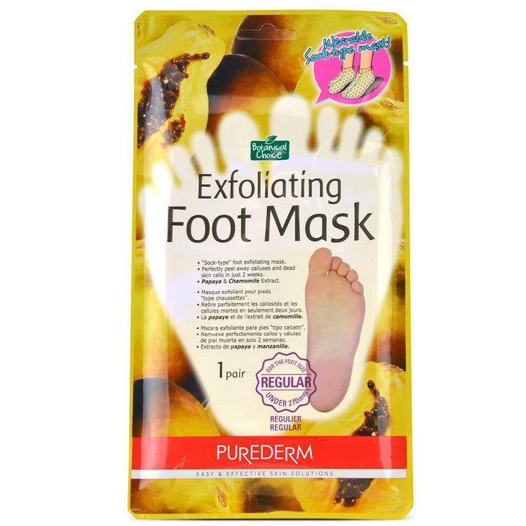 Пилинг для ног Purederm Exfoliating Foot Mask