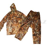 Камуфляжный костюм брюки и ветровка  Crow King (светло коричневый травяной принт) 3XL