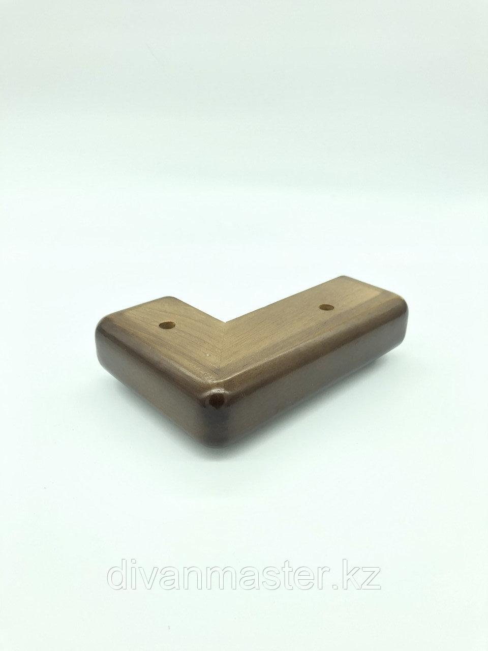 Ножка мебельная, деревянная, угловая 5 см