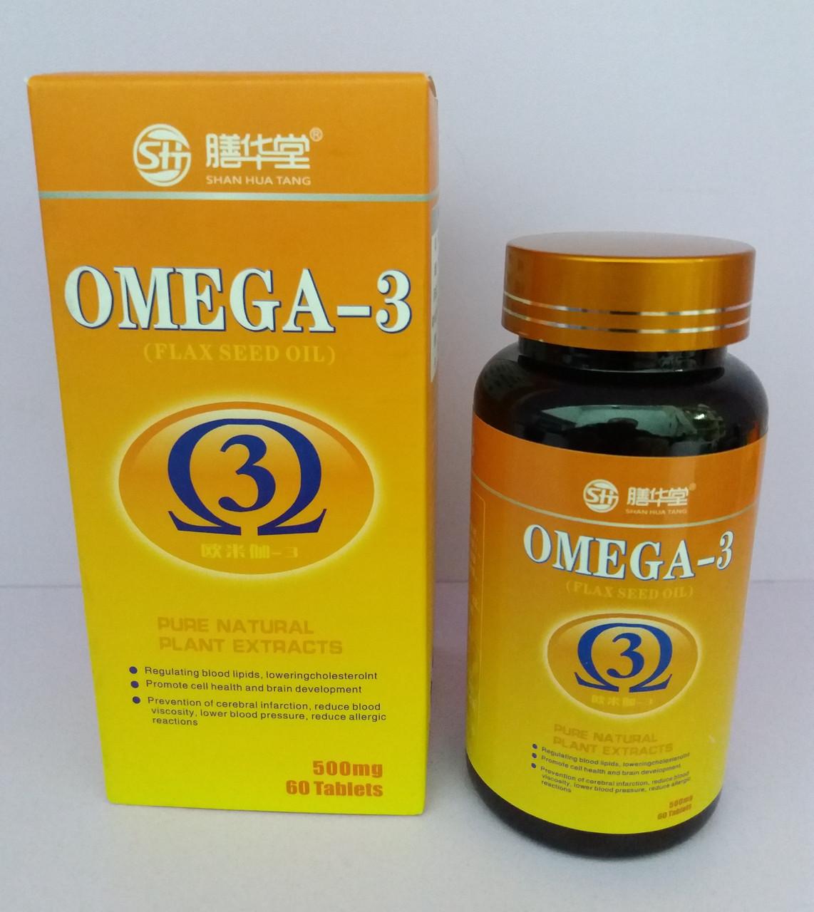 Омега 3 (Flax seed oil) 60шт