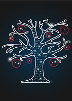 Панно световой мотив Волшебное дерево - PA 20
