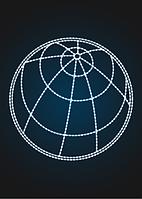 """Световое панно """"Планета 250см"""" - PA 18"""