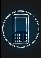 "Световое панно ""Телефон 250см"" - PA 15"