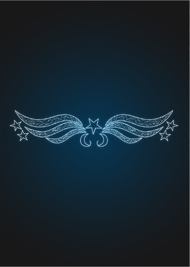 Перетяжка Звездные крылья - SE 56