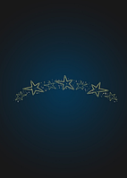 Перетяжка новогодняя Танцы звезд - SE 30