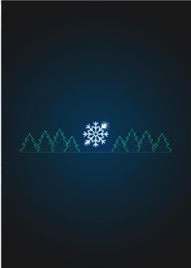 Перетяжка светодиодная Лес - PE 04