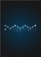 Перетяжка Снегопад - PE 07