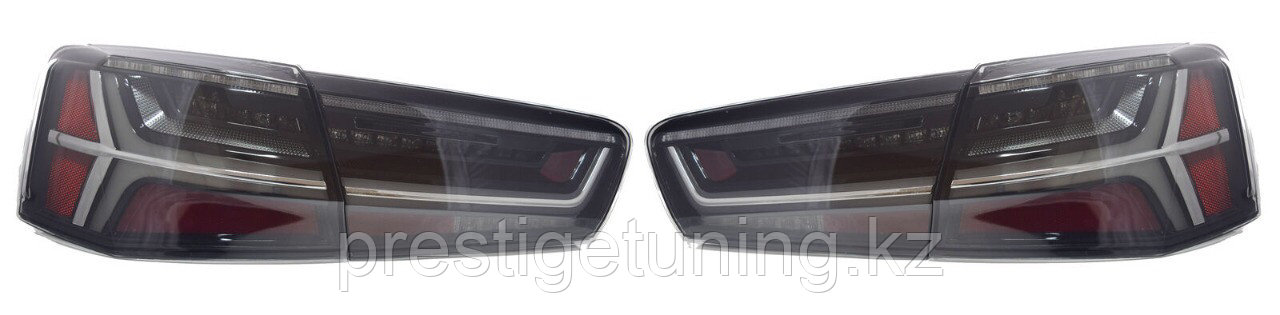 Задние альтернативные фонари на Audi A6 2011-14