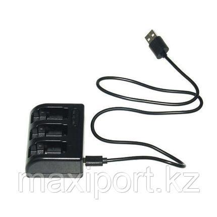 Gopro 5 gopro 6 gopro 7 зарядка для 3 аккумуляторов, фото 2