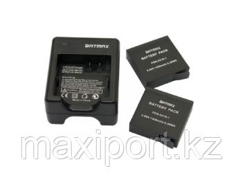 Зарядное устройство для 2 аккумуляторов xiaomi yi 4k