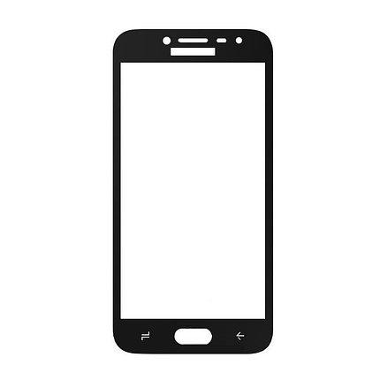 Защитное стекло A-Case Samsung J2 Pro 2018, Samsung J250 2018, Окантовка Black, фото 2