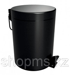 "Ведро для мусора 5 л ""SoftClose"" черное 104315010 DARK Bemeta"