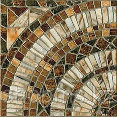 Керамический гранит PiezaROSA Мюнхен коричневый 725962 (33*33*8)