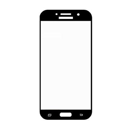 Защитное стекло Samsung A5 2017, A520 2017, Окантовка Black A-Case, фото 2