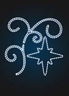 """Консоль """"Ветка со звездой"""" - ST 43"""