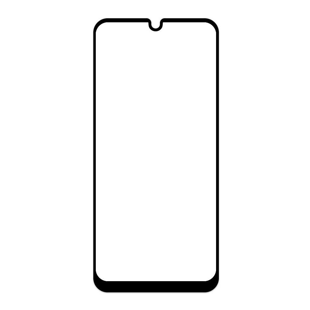 Защитное стекло Samsung A70 2019, Samsung A705 2019 Окантовка Black A-Case