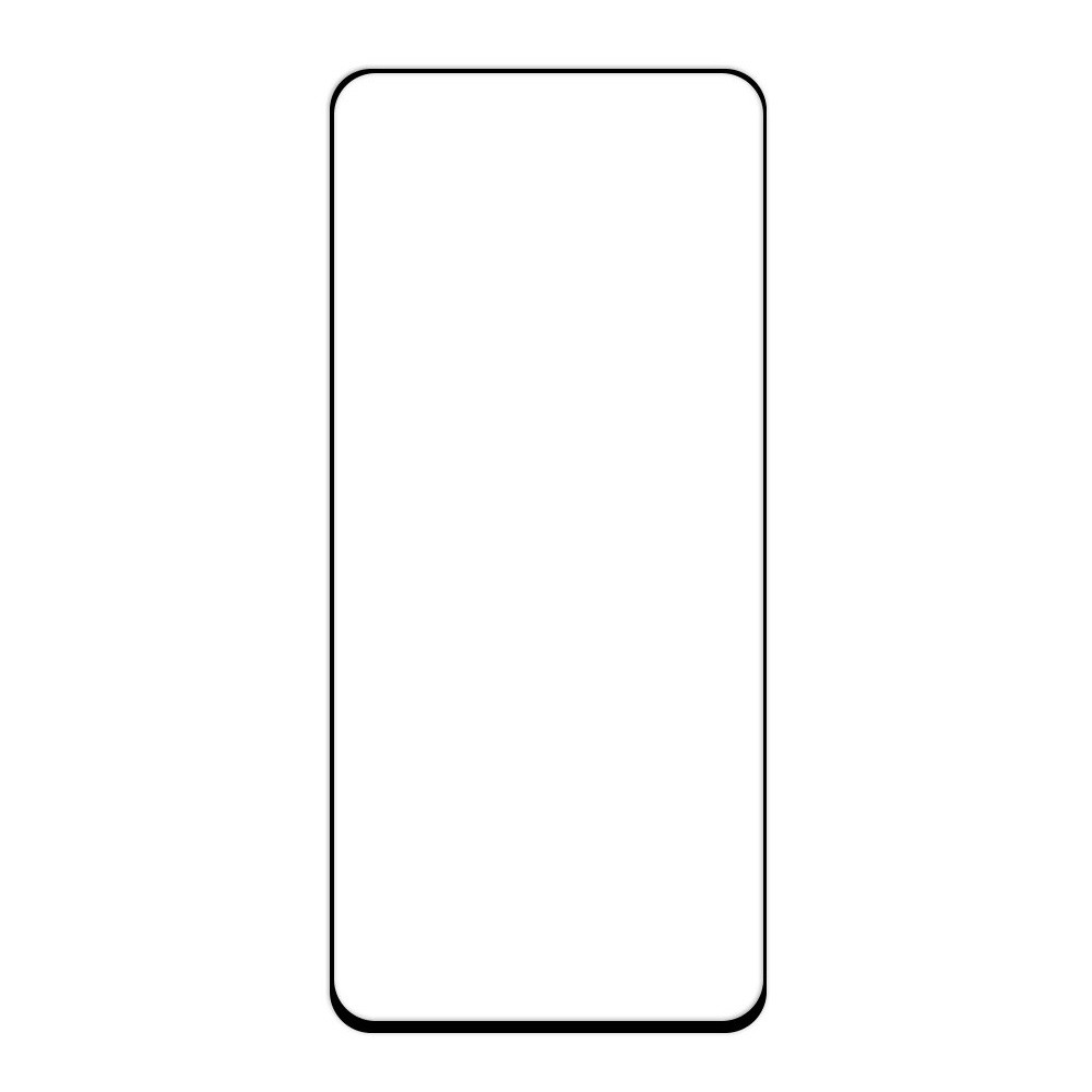 Защитное стекло Samsung A80 2019, Samsung A805 2019 Окантовка Black A-Case