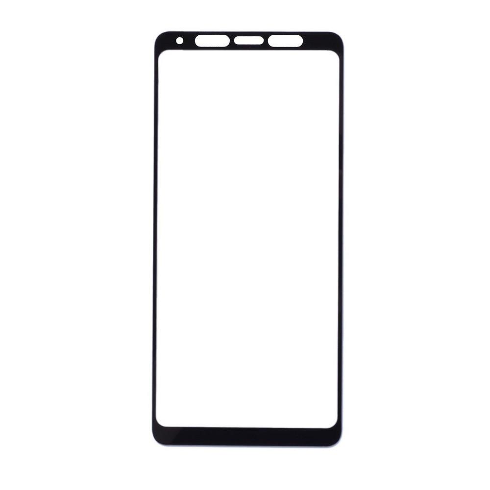 Защитное стекло Samsung A9 2018, A920 2018, Окантовка Black A-Case