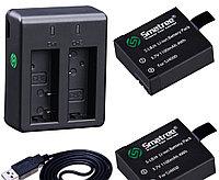 Комплект аккумуляторов для SJCAM SJ4000/SJ5000 Smatree® SJ-001