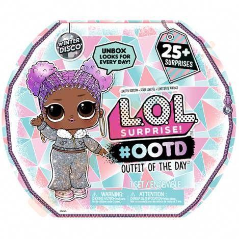 """LOL Surprise - Календарь #OOTD с куклой Модный образ """"Зимнее диско"""" (25 сюрпризов)"""