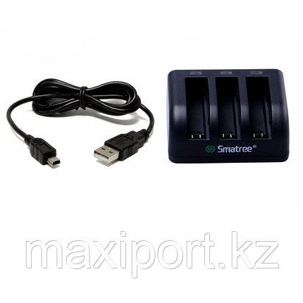 Smatree зарядное устройство на gopro 4 на 3 аккумулятора, фото 2