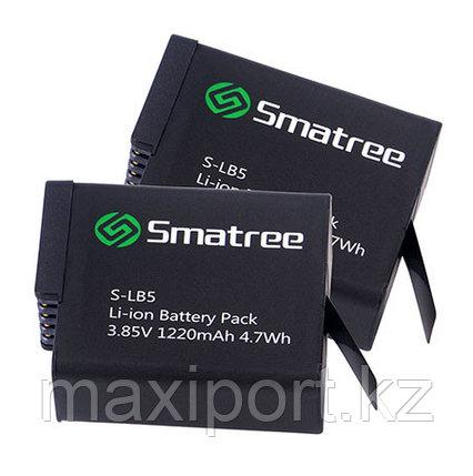 Доп. аккумулятор 1220mAh Smatree® SM-502 для GoPro 5 / 6 / 7, фото 2